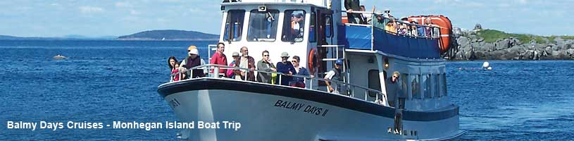 Balmy Days Cruises - Boothbay Harbor