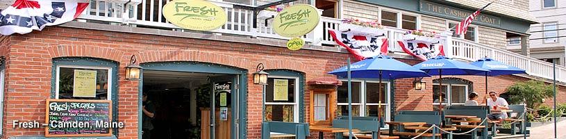 Fresh Camden Maine Natalie S Restaurant