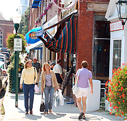 Camden Maine Shopping
