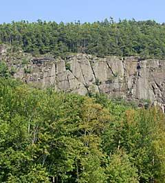 Maiden's Cliff in Camden Hills State Park