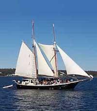 Schooner on Penobscot Bay