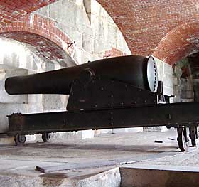 Fort Knox Rodman Cannon